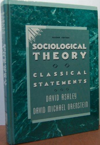 9780205122219: Sociological Theory