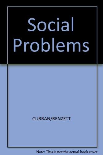 9780205122523: Social Problems
