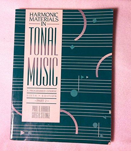 9780205123193: Harmonic Materials (Bk/Cass)