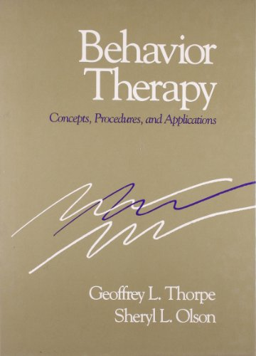 9780205123414: Behavior Therapy: Concepts, Procedures, and Applications