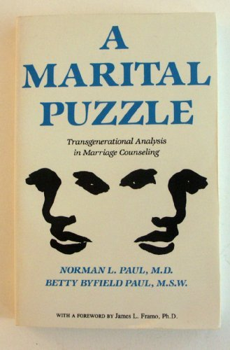 9780205124466: A Marital Puzzle: Transgenerational Analysis in Marriage Counseling