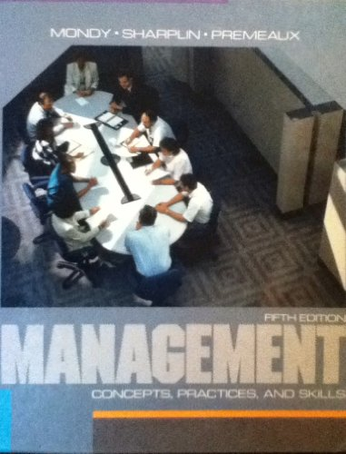 9780205126149: Management: Concepts, Practices and Skills