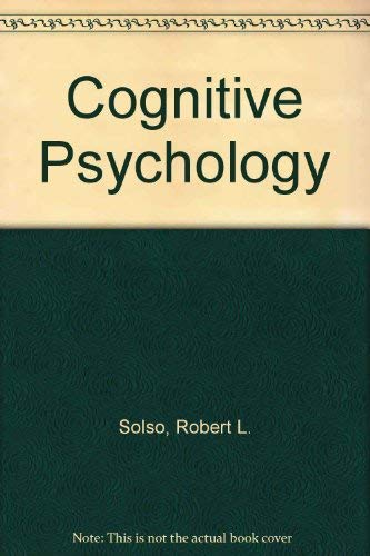 9780205127337: Cognitive Psychology