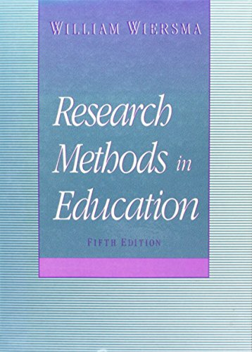 9780205127498: Research Methods in Education: An Introduction