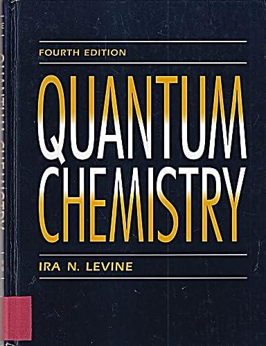 9780205127702: Quantum Chemistry