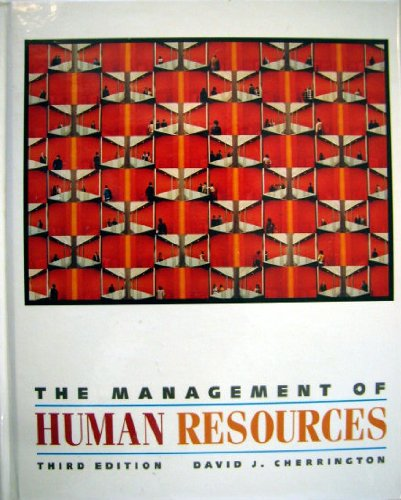 9780205128013: The Management of Human Resources