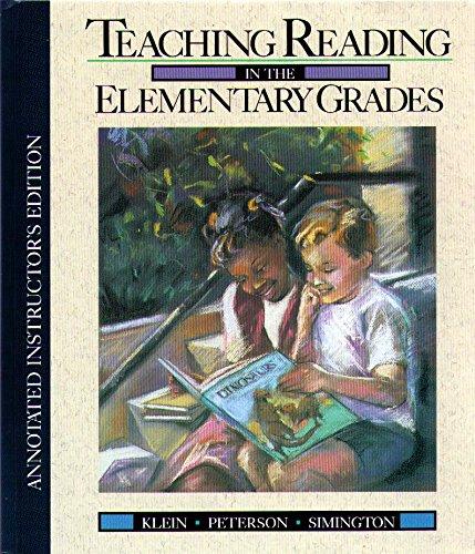 9780205128471: Sm Teaching Reading Elementary Sch Aie