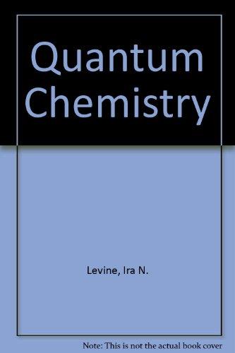 9780205130108: Quantum Chemistry