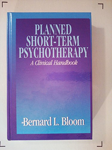 9780205130283: Planned Short-term Psychotherapy: A Clinical Handbook