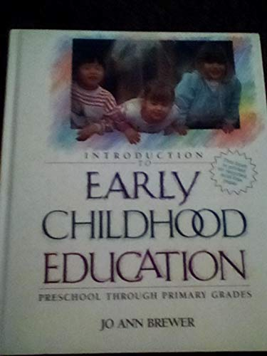 9780205130962: Introduction to Early Childhood Education: Preschool through Primary Grades