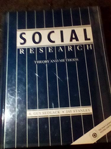 9780205131877: Social Research: Theory and Methods