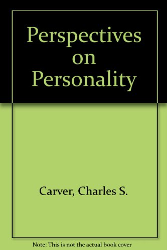 9780205131990: Perspectives on Personality