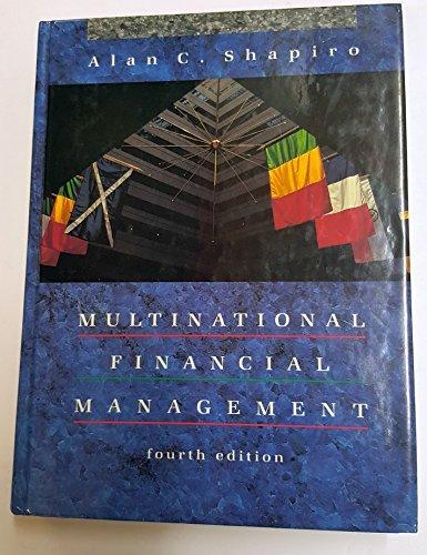 9780205132300: Multinational Financial Management