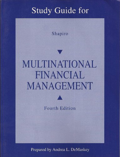 9780205132348: Multinational Financial Manage