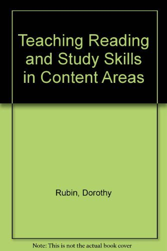 9780205132973: Teaching Reading and Study Skills in Content Areas