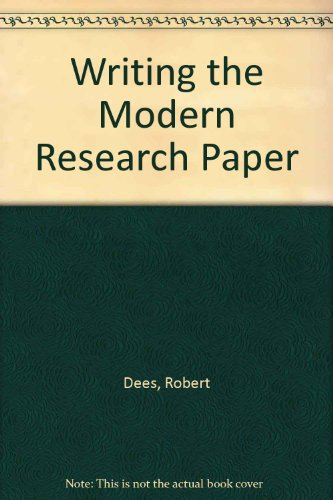 9780205135042: Writing the Modern Research Paper