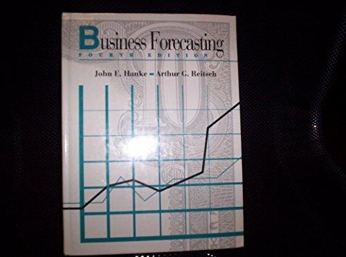 9780205137329: Business Forecasting