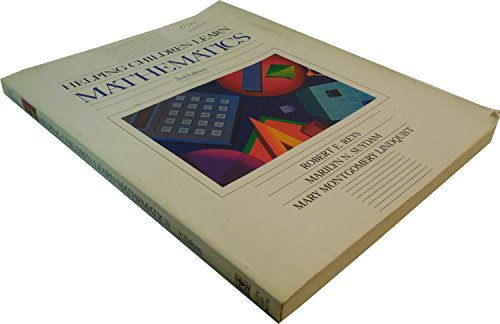 Helping Children Learn Mathematics/Book and Color Tile: Robert E. Reys,
