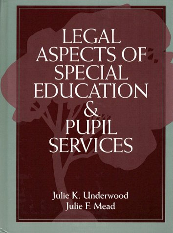 9780205137770: Legal Aspects of Special Education and Pupil Services