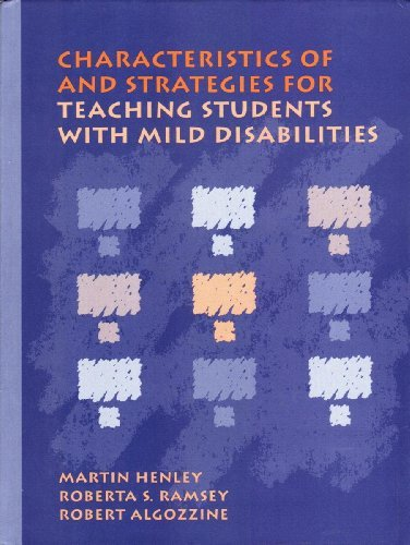 9780205139019: Characteristics of and Strategies for Teaching Students With Mild Disabilities