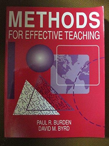9780205139187: Methods for Effective Teaching: K Through 12