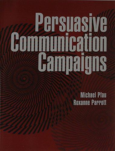 Persuasive Communication Campaigns: Roxanne Parrott; Michael