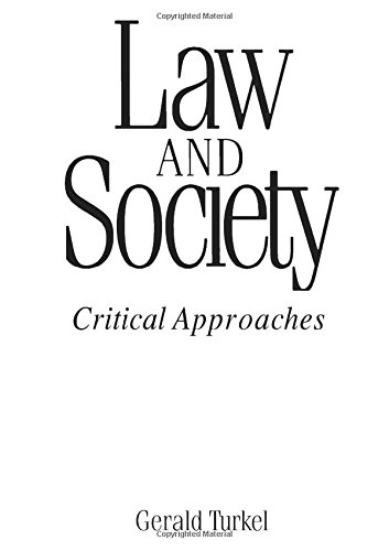 9780205139828: Law and Society: Critical Approaches
