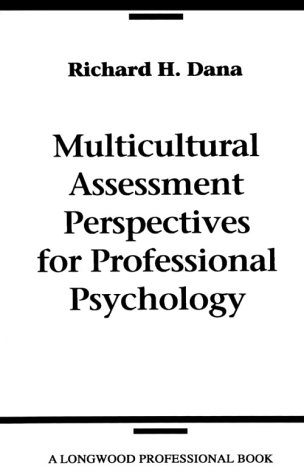 9780205140923: Multicultural Assessment Perspectives for Professional Psychology