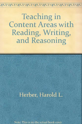 Teaching in Content Areas With Reading, Writing,: Herber, Harold L.,
