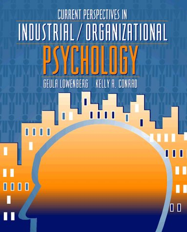 9780205142521: Current Perspectives in Industrial/Organizational Psychology