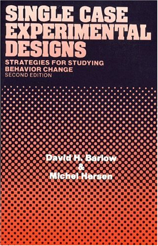 9780205142712: Single Case Experimental Designs (2nd Edition)