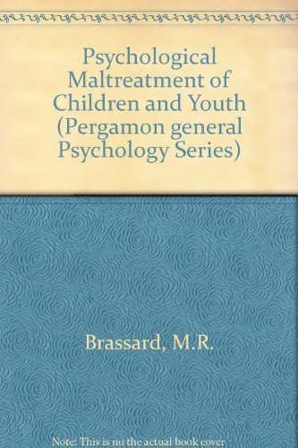 9780205142910: Psychological Maltreatment of Children and Youth (Pergamon General Psychology Series)