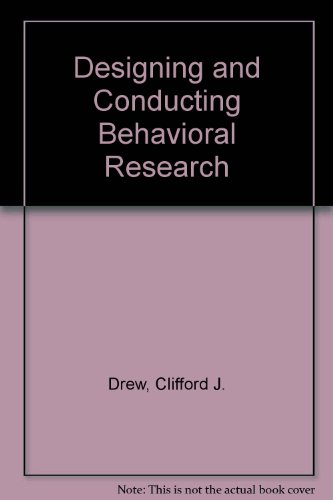 9780205143146: Designing and Conducting Behavioral Research