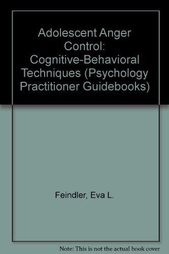 9780205143245: Adolescent Anger Control: Cognitive-Behavioral Techniques (Psychology Practitioner Guidebooks)