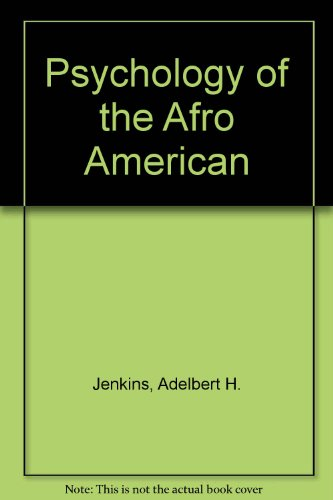 Psychology of the Afro American
