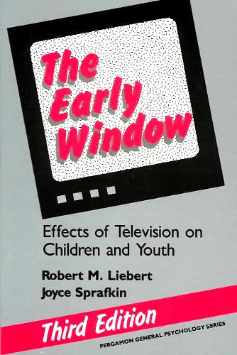 9780205144082: The Early Window: Effects of Television on Children and Youth (Pergamon General Psychology Series)