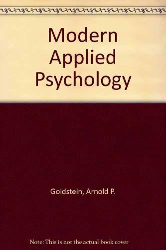 9780205144365: Modern Applied Psychology