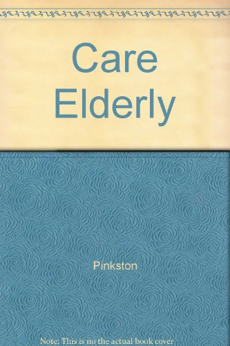 9780205144501: Care Elderly