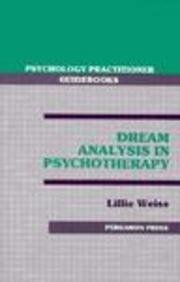 9780205144990: Dream Analysis in Psychotherapy (Psychotherapy Practitioner Guidebooks)