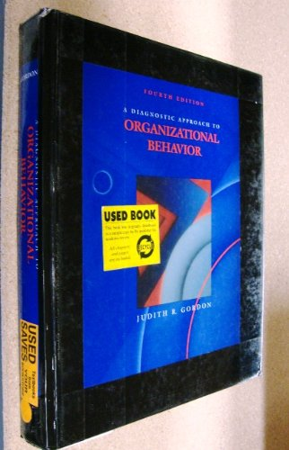 9780205145201: A Diagnostic Approach to Organizational Behavior