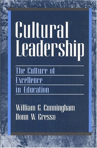 9780205147090: Cultural Leadership: The Culture of Excellence in Education