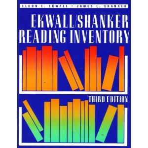 9780205147328: Ekwall/Shanker Reading Inventory