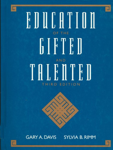 9780205148066: Education of the Gifted and Talented