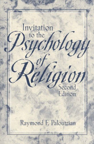 9780205148400: Invitation to the Psychology of Religion