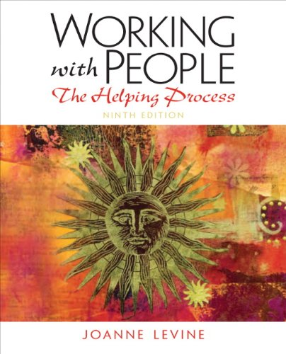 9780205150571: Working with People: The Helping Process (9th Edition)