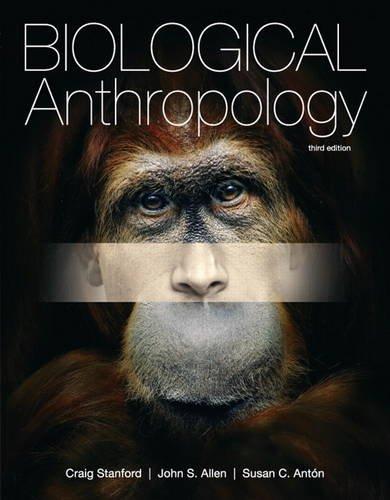 Biological Anthropology: John S. Allen;