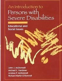 9780205150908: Introduction to Persons with Severe Disabilities : Educational and Social Issues