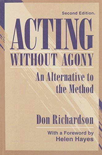 9780205151653: Acting Without Agony:An Alternative to the Method