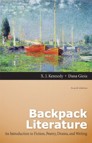 9780205151660: Backpack Literature: An Introduction to Fiction, Poetry, Drama, and Writing