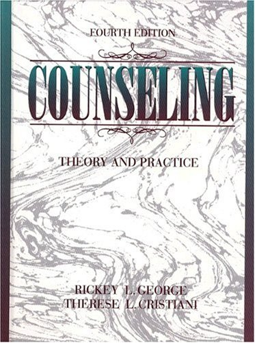 9780205152520: Counseling: Theory and Practice (4th Edition)